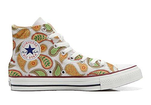 stomized - personalisierte Schuhe (Handwerk Produkt) Quirky Paisley Size 32 EU ()