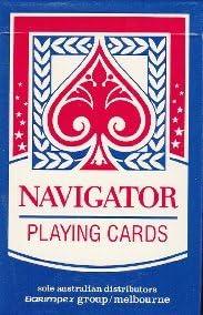 Jeu de cartes cartes cartes Jumbo visages Navigator Finition Lin 08b39c
