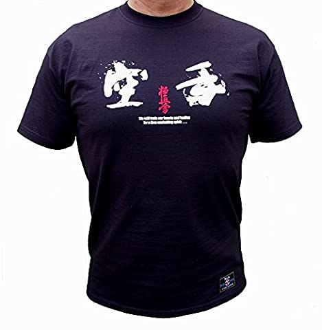 Kyokushin karate Kyokushin Kai, Japan, Oyama Fitted T-Shirt by CafePress, black
