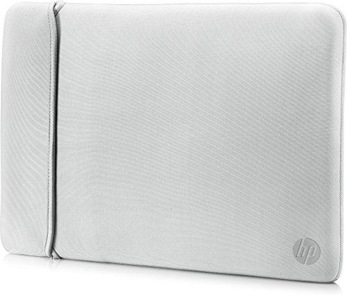 Hewlett Packard 2UF61AA#ABB Wendbare Neoprenhülle 35,56 cm (14 Zoll) Schwarz/Silber