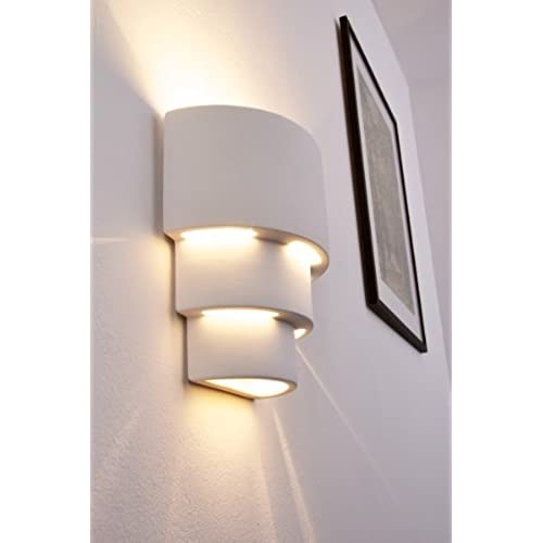 Contemporary indoor wall lights amazon unimall led wall lights modern up down wall sconce ice cream indoor lamp led wall lighting for hallway staircase bedroom living room warm white energy mozeypictures Gallery