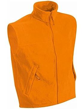 Chaleco de lana pesada para Hombre en polar 300 g/m²