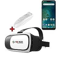 Xiaomi Mi A2 Lite VR BOX 3D Sanal Gerçeklik Gözlüğü Kumandalı