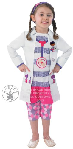 Kinder, die Doc McStuffin Fancy Kleid Kostüm Outfit 1-2Yrs (Mcstuffins Doc Kostüme)