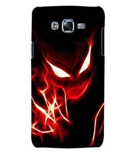 ColourCraft Flaming Eyes Design Back Case Cover for SAMSUNG GALAXY J5
