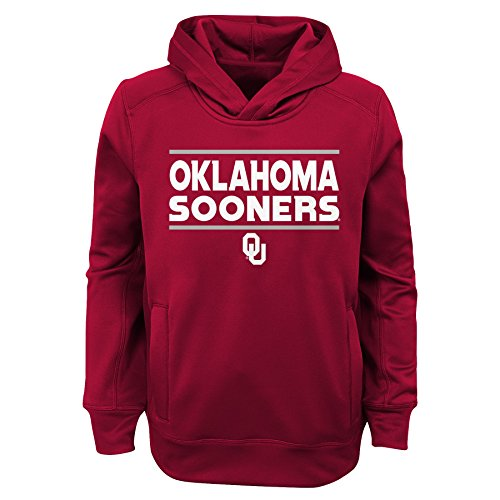 Gen 2 NCAA Oklahoma Sooners Jungen Youth Performance, Hoodie, Jungen Youth, Jungen, K N8 48TMF 91-XL, Scharlachrot, Youth Boys X-Large (18) Red Youth Hoodie