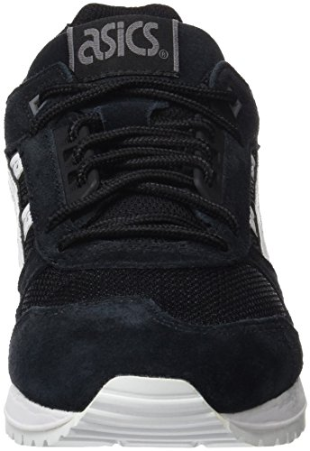 Asics Gel Respector, Baskets Basses Mixte Adulte Noir (Black/White)