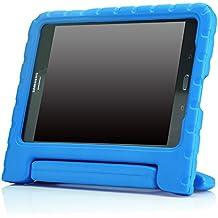MoKo Samsung Galaxy Tab A 8 Pulgadas 2015 Tableta Funda, Ligero y super protective funda diseñar especialmente para los niños, color Azul