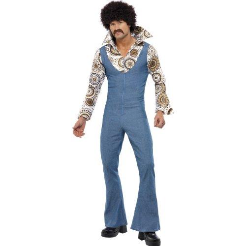 70er Groovy Jahre Kostüm Dancer - Karneval Herren Kostüm Groovy Tänzer 70er Jahre Hippie Größe L
