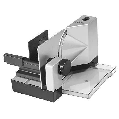 41Ts9pRh5ML. SS500  - ritter E 18 Electrical Food Slicer with eco Motor, Made in Germany, Metal, 65 W