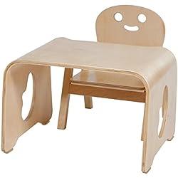 Creaciones meng - Kit Conjunto Mesa, Silla Infantil Ref-13398