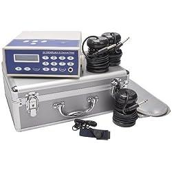 Detox Ion Cleanser Galvano Set im ALU Servicekoffer Fußelektrolyse/Fußbad