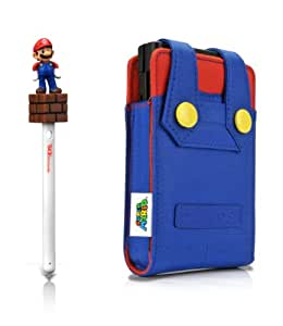 Super Mario character kit pour 3DS : Housse + Stylet