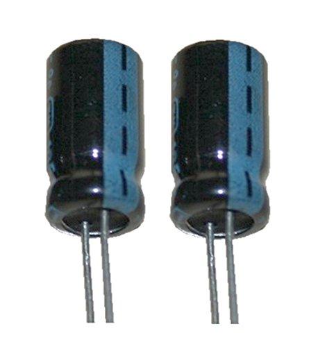 Elko Elektrolytkondensator 1000uF 25V Low Impedanz 105°C 2 Stück (1008) -