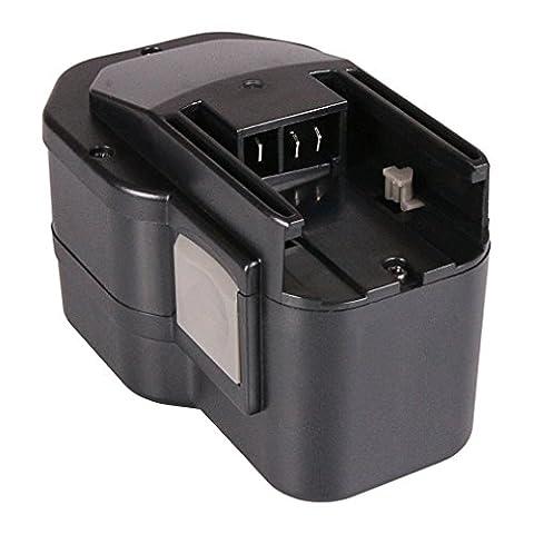 Batterie 48-11-1000 Ni-MH 3000mAh 14.4V pour AEG BBM 14 STX   BBS 14 KX RAPTOR   BBS 14 X   BDSE 14 STX   BS 14 X   BS2E 14.4 T   BSB 14 STX   BSS 14   ZB2E 14 STX   Milwaukee LokTor