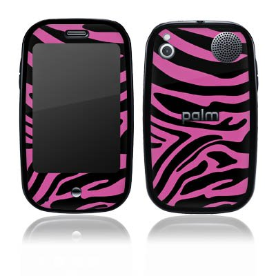 DeinDesign O2 Palm Pre Case Skin Sticker aus Vinyl-Folie Aufkleber Pink Muster Zebra Trend Palm Pre Pink Zebra