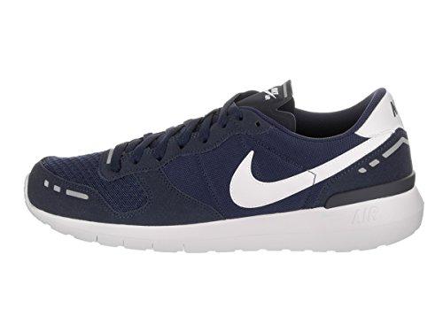 Sneaker Nike Air Vortex 17 in pelle e tessuto nero e grigio Blu