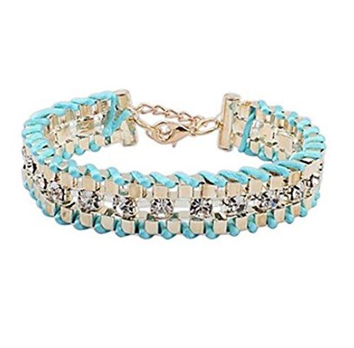 GYJUN Armbänder Ketten- & Glieder-Armbänder / Überlebens-Armband Aleación / Strass Hochzeit / Party / Alltag / Normal Schmuck GeschenkBezüge / , light blue