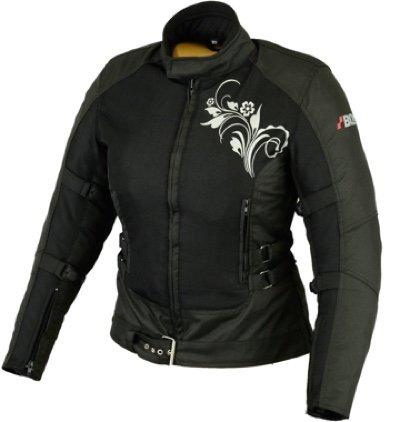 DAMEN MOTORRADKOMBI JACKE + HOSE - AUS TEXTIL /CORDURA für Motorrad Biker Chopper Cross (XXL)