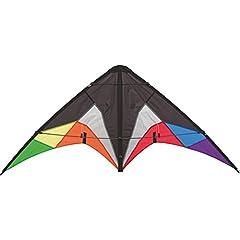 Idea Regalo - Aquilone acrobatico Quickstep con 2 Cavi per Iniziare. Dimensioni: 130 x 60 cm