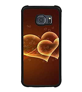 ifasho Designer Back Case Cover for Samsung Galaxy S6 G920I :: Samsung Galaxy S6 G9200 G9208 G9208/Ss G9209 G920A G920F G920Fd G920S G920T (Love Love Cards Love Handles L Love You Teddy Bear)