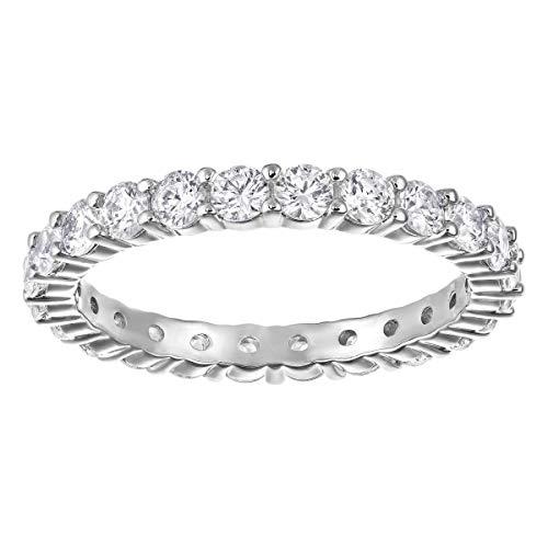 Swarovski Damen-Ringe Edelstahl Kristall '- Ringgröße 48 5257516