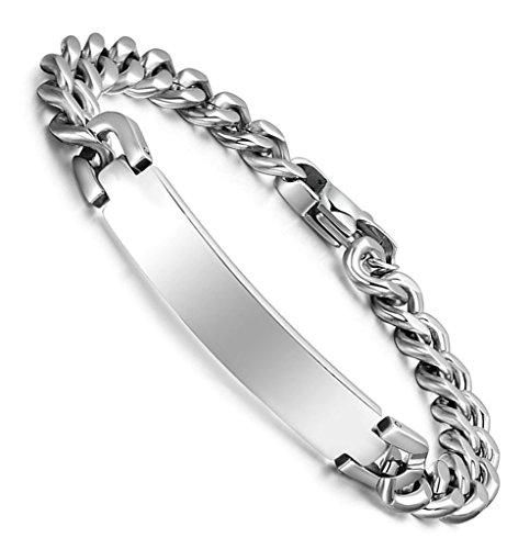 bracelet-curb-chaine-argent-poli-212-cm-breloque-mariage-aooaz-acier-inoxydable-hommes
