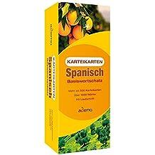 Karteikarten Spanisch Basiswortschatz