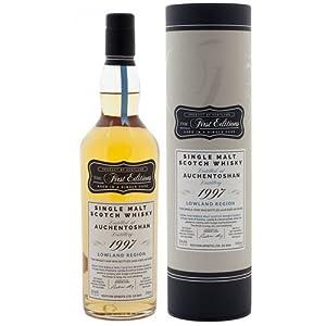 Auchentoshan 18 Year Old 1997 - The First Editions Single Malt Whisky by Auchentoshan