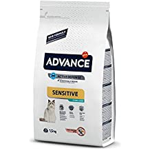 Advance Sensitive Pienso para Gatos Esterilizados con Salmón - 1500 gr
