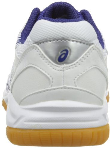 Asics Gel Doha GS, Scarpe da ginnastica Unisex - bambino Weiß (weiß / blau)
