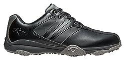 Callaway Herren Chev Comfort Golfschuhe, Schwarz Black/Grey), 40.5 EU
