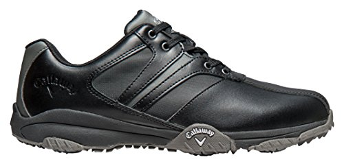 Callaway Chev Comfort, Men's Golf Shoes, Black / grey, 9.5 UK
