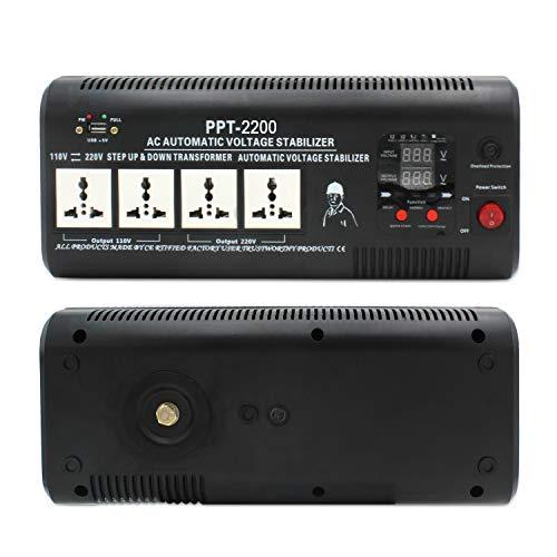 Yinleader PPT-2200 - Transformador Elevador/Reductor