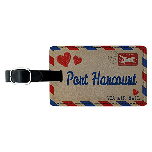 air-mail-postkarte-love-fr-port-harcourt-leder-gepck-id-tag-koffer
