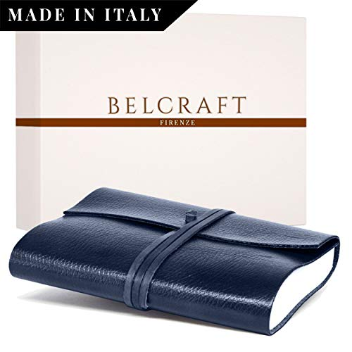 Belcraft Orvieto Vaciabolsillos de Piel Italiana Marron Oscuro Hecho a Mano Incluye Caja 19x19 cm