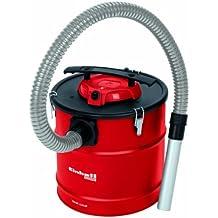 Einhell TH-VC 1318 - Aspirador con filtro integrado chimeneas (500 W, diámetro manguera: 38 mm, largo manguera succión: 1 m, deposito metálico: 18 l)