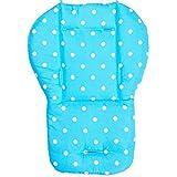 Coussin Poussette Universel Bébé, Bébé Poussette/Voiture/Chaise Haute Siège Coussin Matelas Landaus pour bébé Seat Cotton Pad Poussette Accessoire.