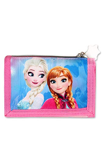 Frozen - die eiskönigin, portafogli bambino ragazze multicolore multicolore