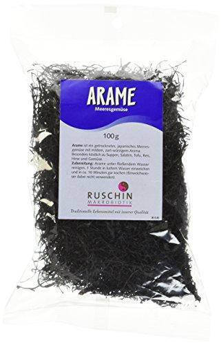 Ruschin Arame 100g Algenprodukt, 1er Pack (1 x 100 g)