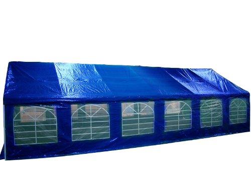Pavillon Pavillion Gartenzelt Zelt Partyzelt Festzelt 6 x 12 Meter Farbe Blau