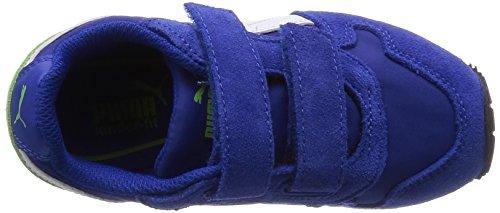 Puma St Runner Nl V Kids, Baskets Basses Mixte Enfant Bleu (surf The Web-white-jasmine Green 06)