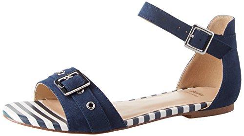 BATA 569277 Sandali con Cinturino alla Caviglia Donna, Blu 39 EU