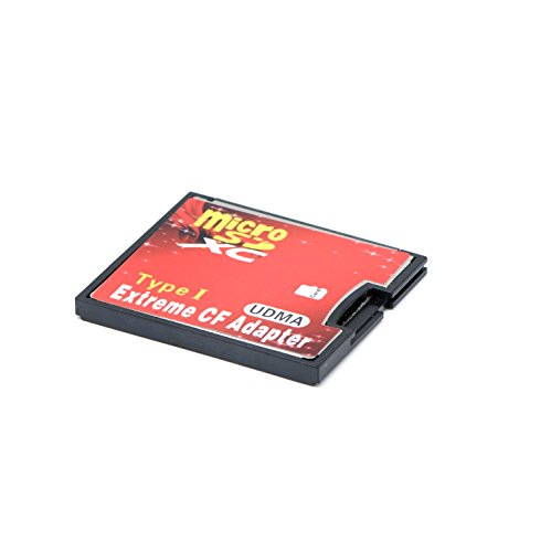 QUMOX microSD To CF Compact Flash Memory Card Adapter Reader type 1