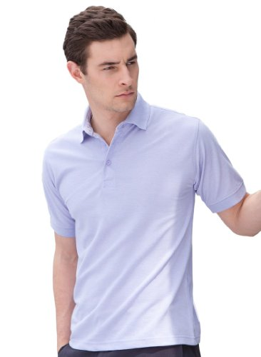Piqué Poloshirt Lavender