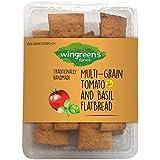 Wingreens Farms Multigrain Tomato & Basil Flatbread, 100 g