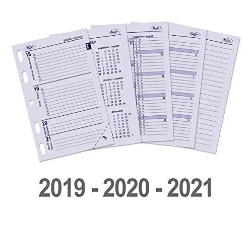 Kalpa 3 Anni Mini Papers Planificatrice Riempire Con 6 Foro Della Ricarica Pad Per Mini Taccuino Organizzatore Diario Inserti 540 Fogli - Confezione Da 3