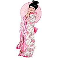 COSTUME di CARNEVALE da GIAPPONESE vestito per ragazza bambina 7-10
