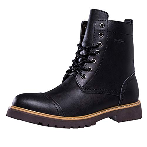 Herren Mode Schuhe Outdoor Militärstiefel Winterschuhe Rutschfest Boots Retro Schneestiefel Arbeitsstiefel Winterstiefel Wandern Stiefeletten Schneeschuhe