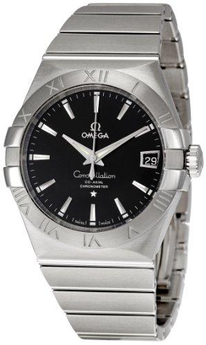 Omega 123.10.38.21.01.001 – Reloj (Reloj de pulsera, Masculino, Acero inoxidable, Acero inoxidable, Acero inoxidable, Acero inoxidable)